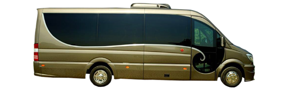 Mercedes Luxury Bus 19 Seats